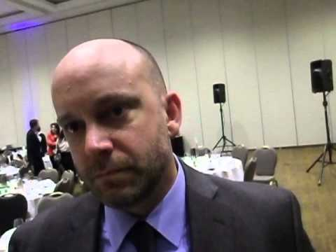 Tim Ritcher from the Canadian Alliance to end Homelessness is confronted by the Blogger
