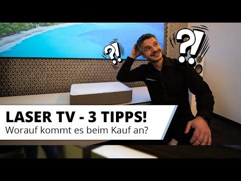 Laser TV Kaufberatung - 3 wertvolle Tipps