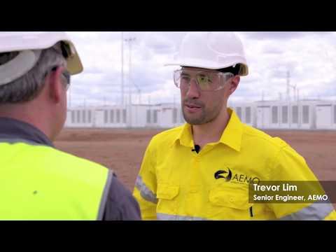 AEMO Visits Tesla's South Australian Battery