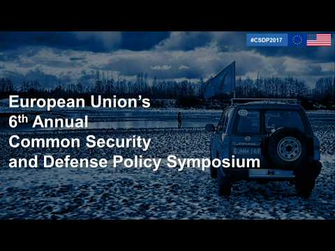 The EU's Common Security and Defense Policy