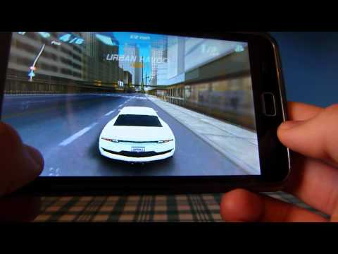 Asphalt 6 Adrenaline SAMSUNG GALAXY PLAYER 5.0