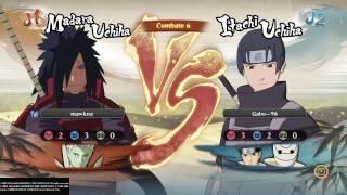 NARUTO SHIPPUDEN Ultimate Ninja STORM 4 - Gabe vs Mawlusz BATALLA FINAL