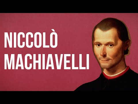 POLITICAL THEORY - Niccolò Machiavelli