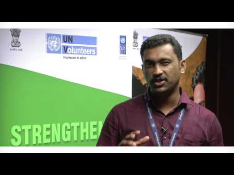 Interview with UN Volunteer Toney Thomas: Channeling the energy of young people
