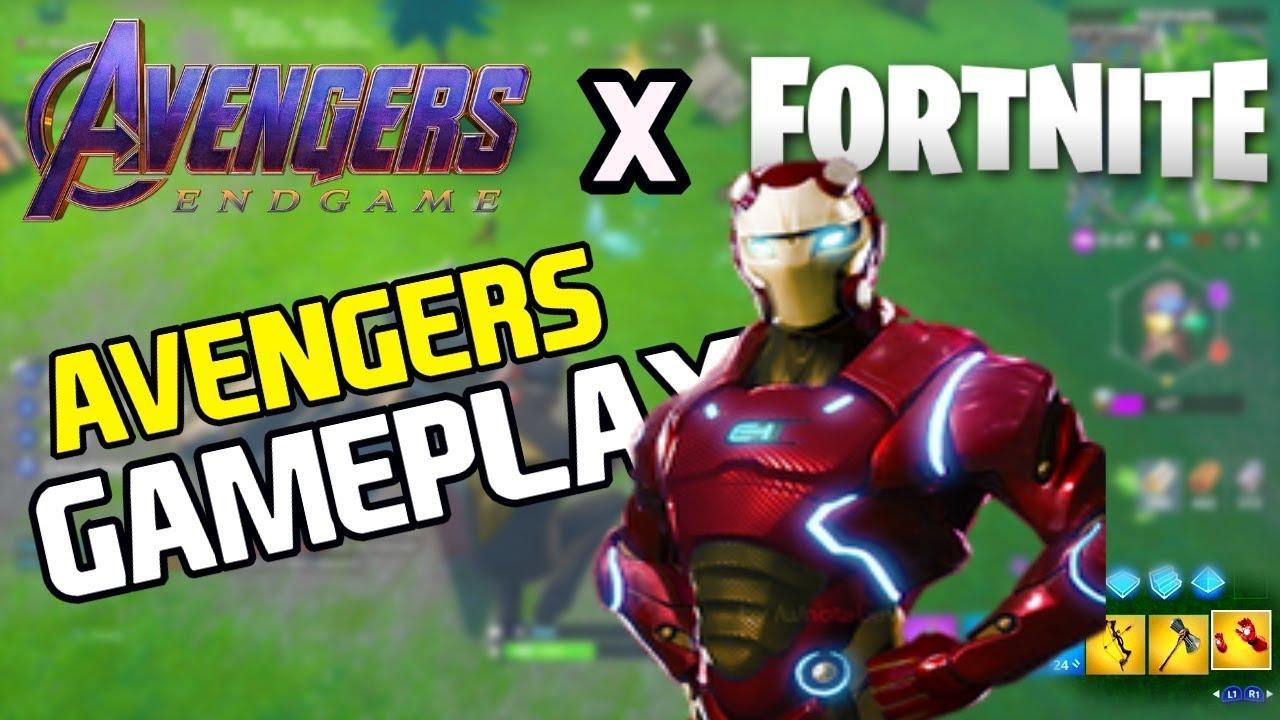 new fortnite avengers endgame game mode  fortnite x