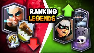 Ranking ALL 15 Legendary Cards | BIG Changes After Balance Update!