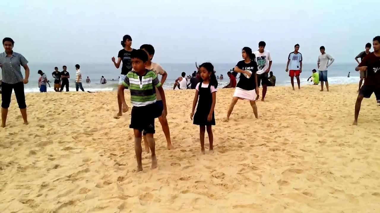 Salsa Dancing on the Beach - in snorkeling gear - YouTube