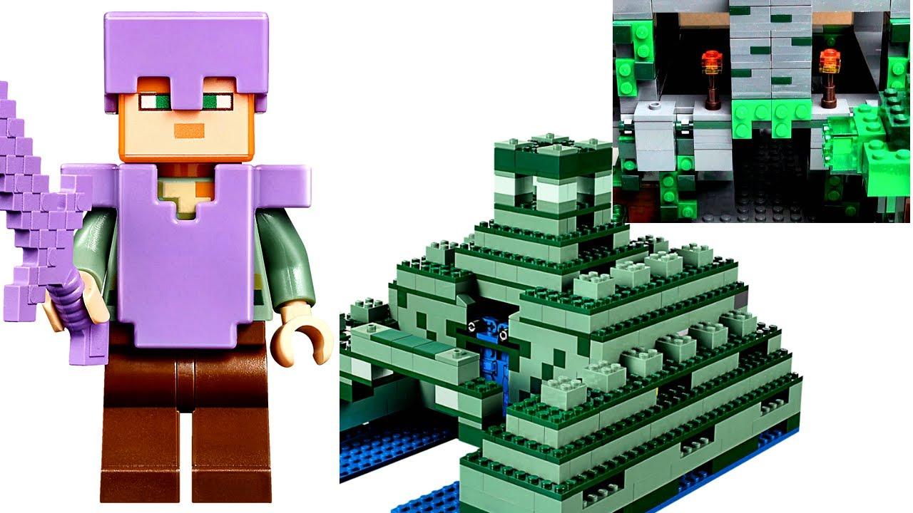 Лего Майнкрафт самоделка ОГРОМНЫЙ МИР из LEGO Minecraft ...