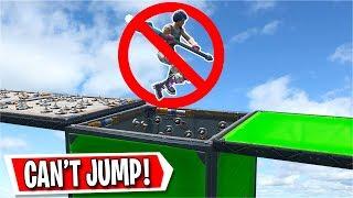 The 25 Level NO JUMPING Deathrun in Fortnite... (Fortnite Creative)