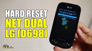 Hard Reset no LG Optimus Net Dual (P698) #UTICell