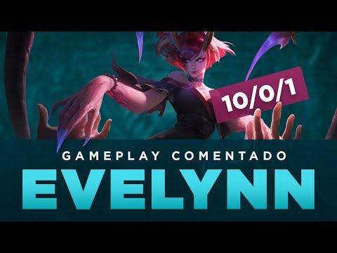 GAMEPLAY COMENTADO - EVELYNN JUNGLE (D2 SOLOQ BR)