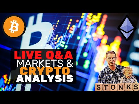 LIVE Bitcoin & Crypto Markets Analysis! Q&A – Late Night Crypto & RUM!