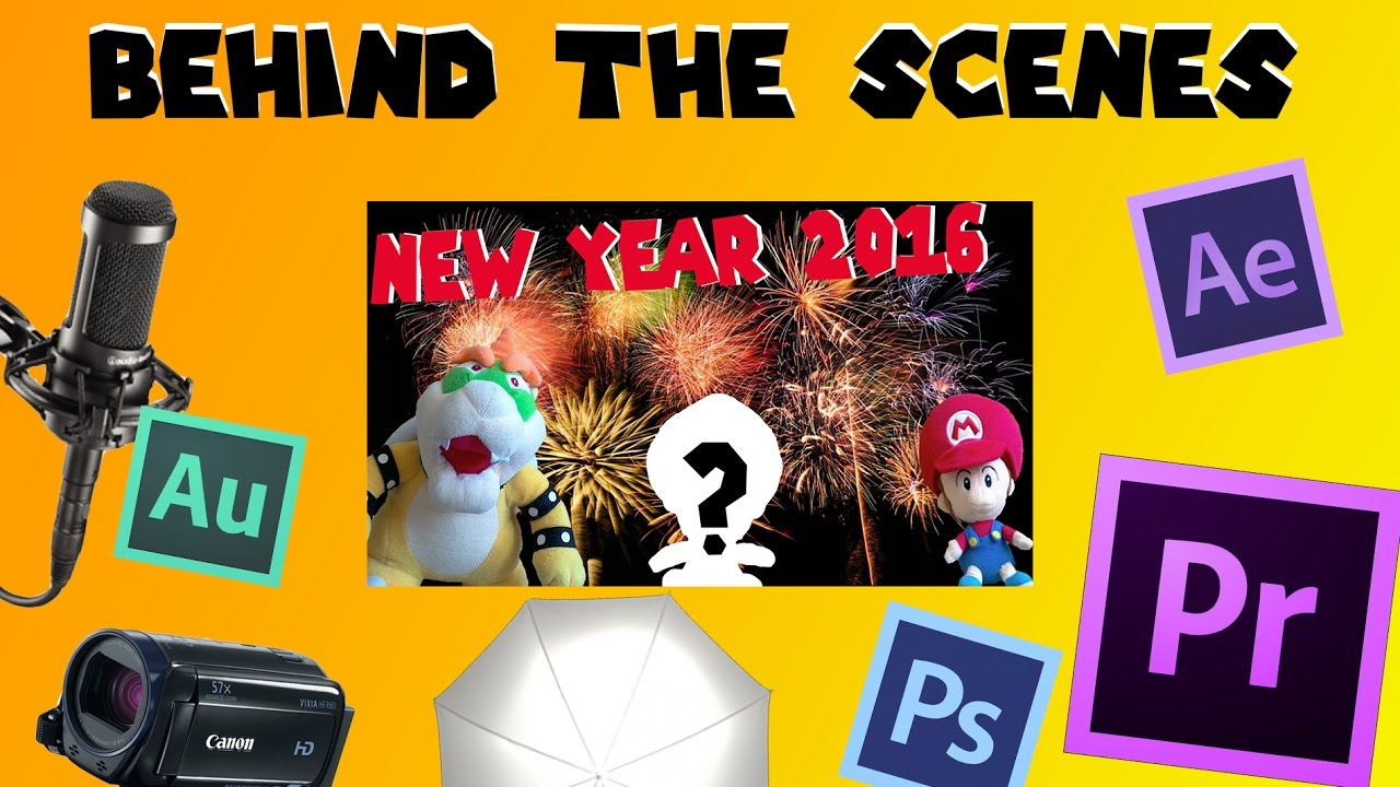 Behind the Scenes: A BowserPower New Year 2016 - YouTube