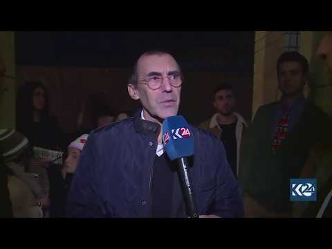 French Consul-General to Erbil Dominique Mas Christmas message