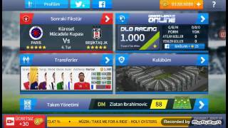 Dream league soccer \ Küresel mücadele kupası \ Paris vs Beşiktaş JK \ Bjk 2- 1 Paris