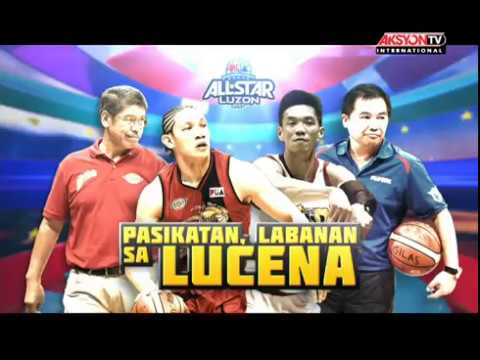 PBA All Star Luzon vs. Gilas Pilipinas April 28, 2017