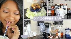 DIY HOME COFFEE BAR | COFFEE & TEA STATION