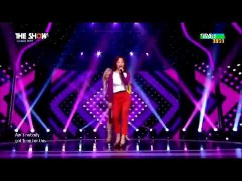 Comeback Stage 150407 Mamamoo 마마무 & ESNA 에스나 AHH OOP! 아훕! @ The Show