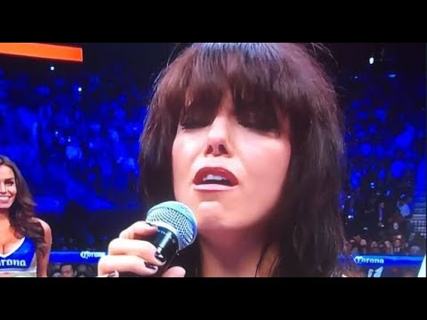 Imelda May sings Irish National Anthem Fan viewpoint