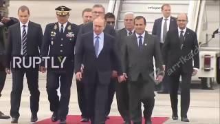 Поведение охраны Путина в опасной ситуации