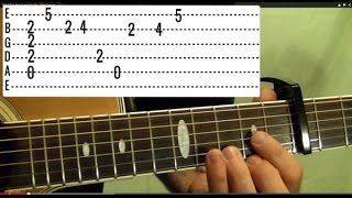 Guitar Lesson - BEATLES - Here Comes the Sun