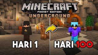 100 Hari di Minecraft Tapi Underground