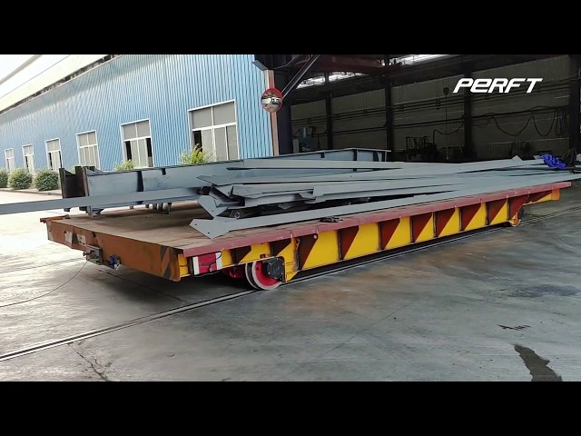 Analysis of abnormal parking reasons of battery powered rail transfer cart