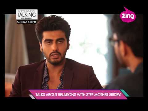 Arjun Kapoor confesses about his stepmother Sridevi