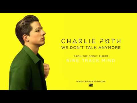 Charlie Puth - We Don't Talk Anymore Ft. Selena Gomez (Audio)