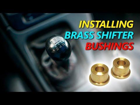 Nissan 300zx Z32 Brass Shifter Bushing Install