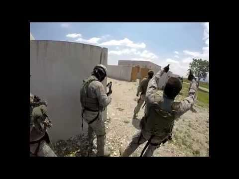 31st Security Forces Shoot house training