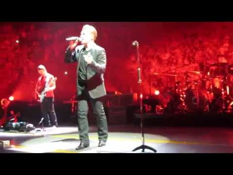U2 Montreal June 13 2015 From the rail. Streets+One  LOUDEST CONCERT BONO HAS EVER HEARD