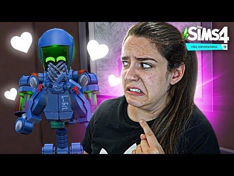 O ROBÔ ME AMA! - The Sims 4 Vida Universitária
