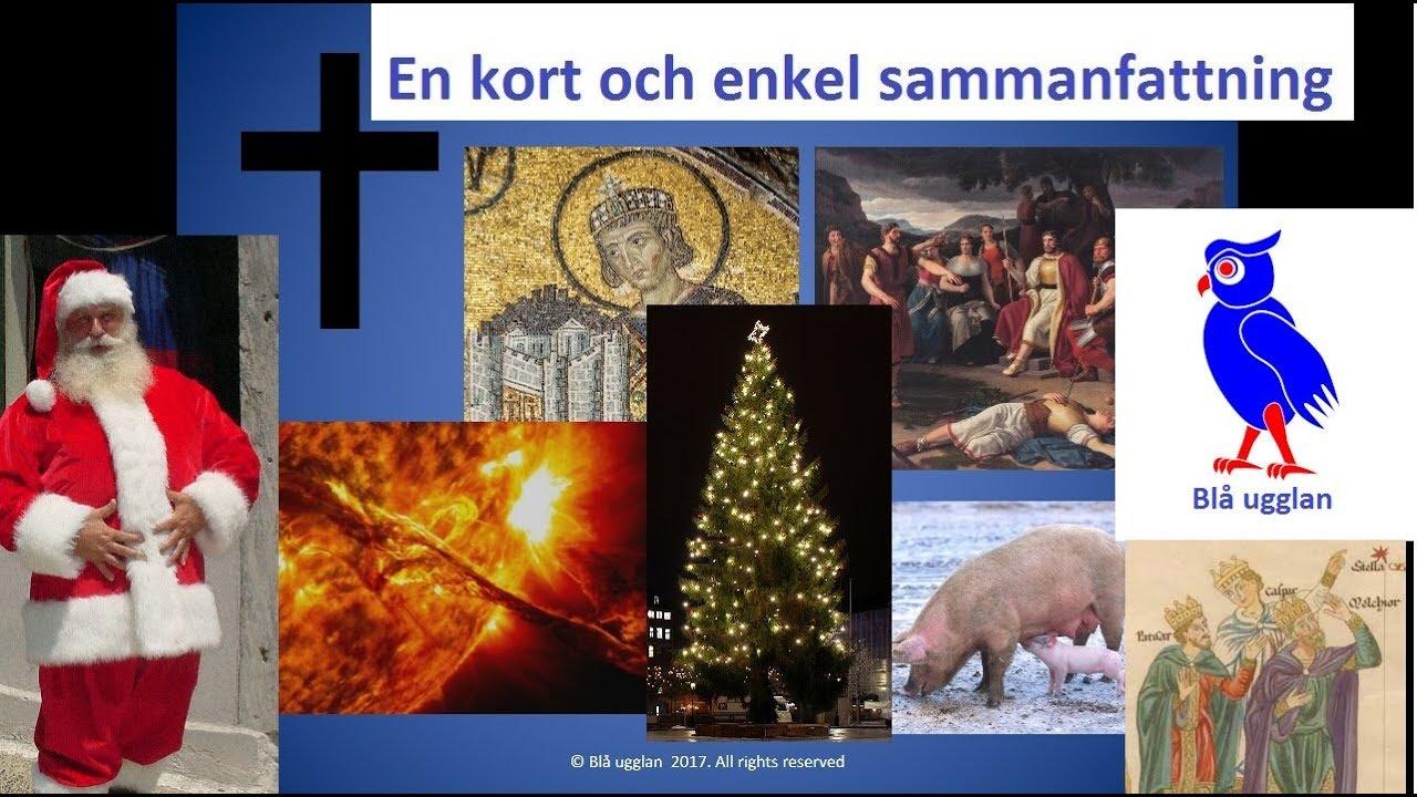 Varför firar vi jul? [En kort och enkel sammanfattning] [Högtider]