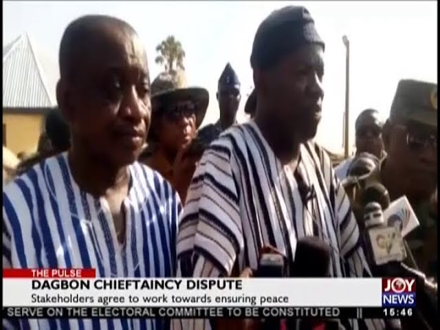 Dagbon Chieftaincy Dispute – The Pulse on JoyNews (11-12-18)