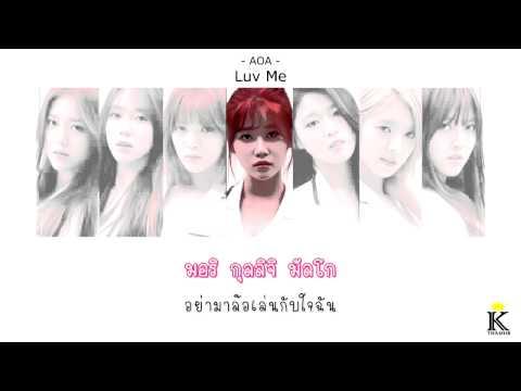 [Karaoke/Thaisub] AOA - Luv me