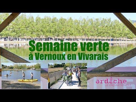 2018 09 27 Actu'Sport   Semaine Verte à Vernoux en Vivarais   Département de l'Ardèche