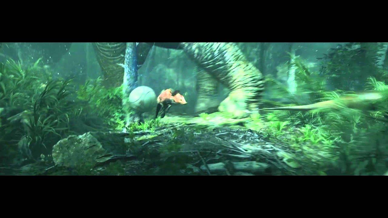 Free 3d Dinosaur Wallpaper Robinson The Journey Trailer Playstation Vr