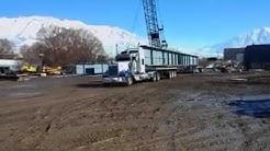 TSA Specialized Transport - Washington bridge beams shipped from utah