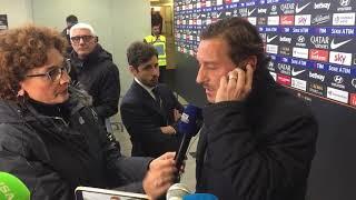 """Roma-Inter 2-2 Francesco Totti """"E' una vergogna"""""""