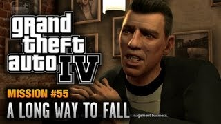 GTA 4 - Mission #55 - A Long Way to Fall (1080p)