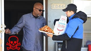 Poisoned Pizza Delivery Prank! (MUST WATCH)