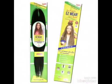 New Janet Collection Ez Wear Braid Perm Yaky Show