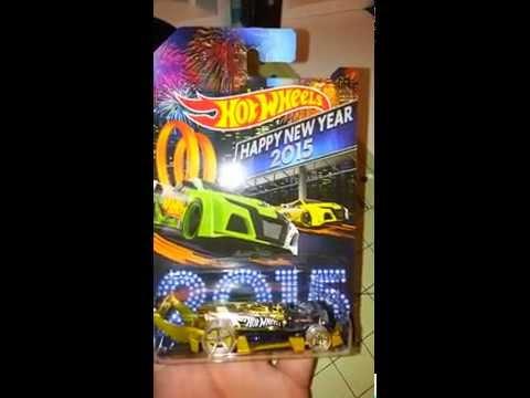 hot wheels happy new year 2015 carbonator very rare - Rare Hot Wheels Cars 2015