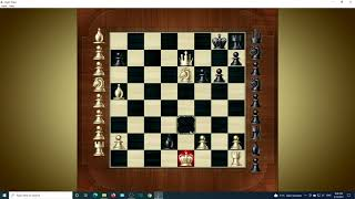 Chess Titans level 5 Windows 10 HD 4k 8k 120 FPS chess black and white