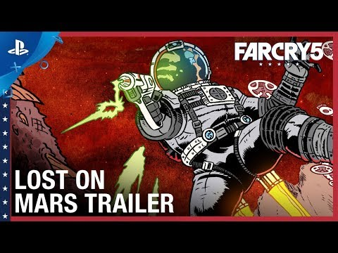 Far Cry 5 - Lost On Mars Launch Trailer | PS4 thumbnail