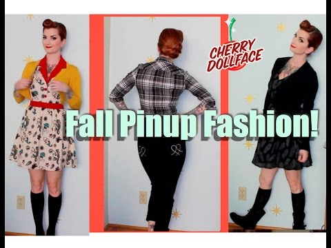 Fall Pinup Fashion & Style Ideas! by CHERRY DOLLFACE