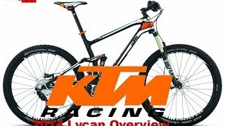 2014 KTM 650b LYCAN 271 FULL SUSPENSION MOUNTAIN BIKE OVERVIEW