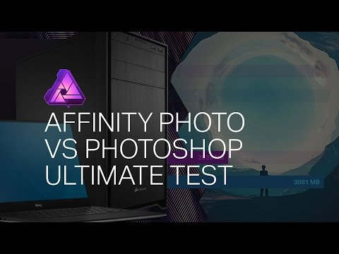 ULTIMATE TEST: Is Affinity Photo FASTER than Photoshop? Surprising Results