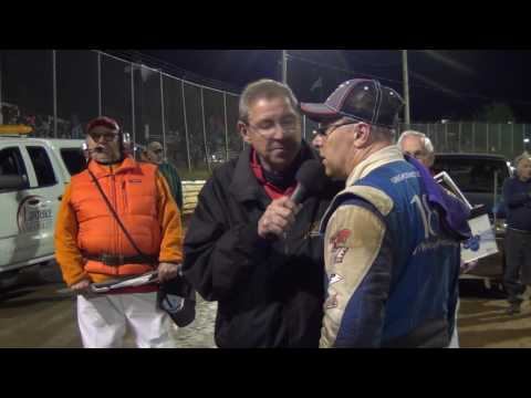 Lincoln Speedway 410 Sprint Car Victory Lane 05-14-16